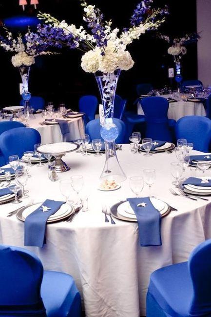 Mariage haut en couleur - bleu 2