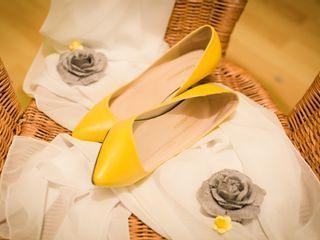Mariage haut en couleur - jaune. 1