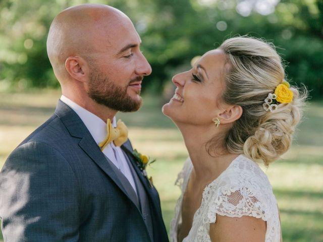 Mariage haut en couleur - jaune. 2