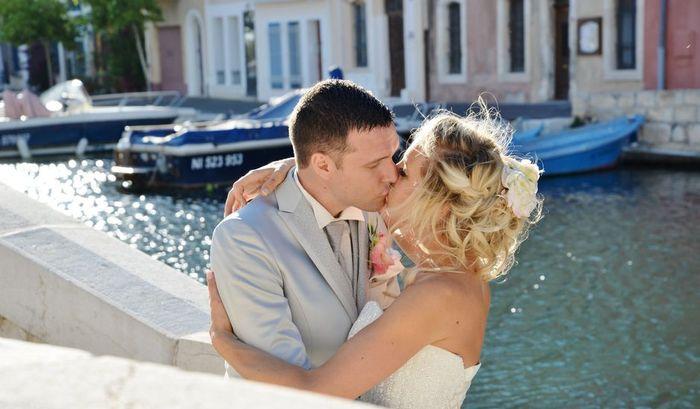 Mariage haut en couleur - argenté 1