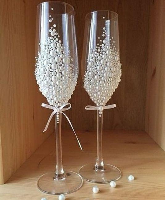 Bataille des mariées - 2 verres 1