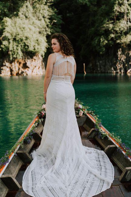 Elopement wedding : la robe qui va avec 1