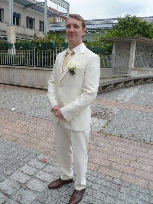 Voyage dans le temps 2 : costume marié. 1