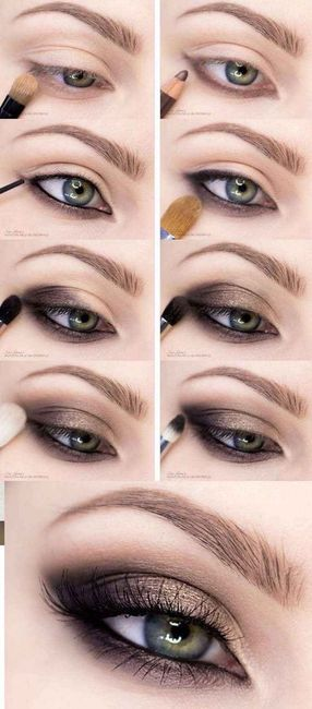 Maquillage yeux bleux 2