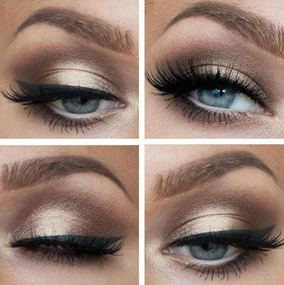 Maquillage yeux bleux 12