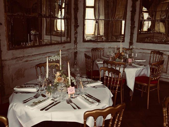 """""""Bienvenue aux mariés"""" mardi - 4) Banquet 4"""