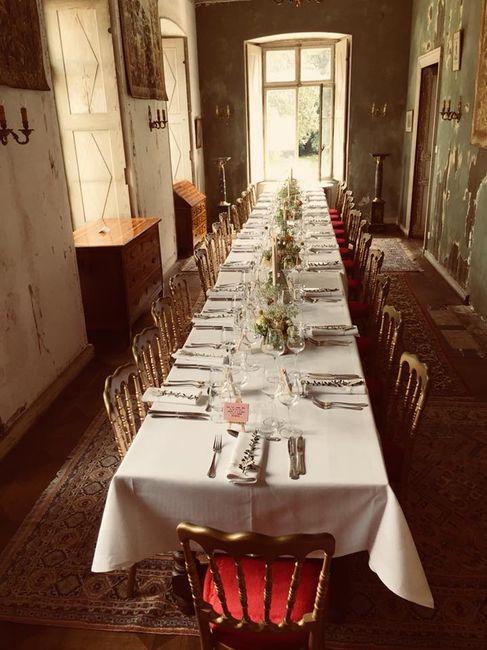 """""""Bienvenue aux mariés"""" mardi - 4) Banquet 5"""