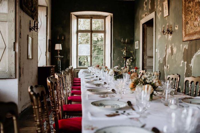 """""""Bienvenue aux mariés"""" mardi - 4) Banquet 8"""