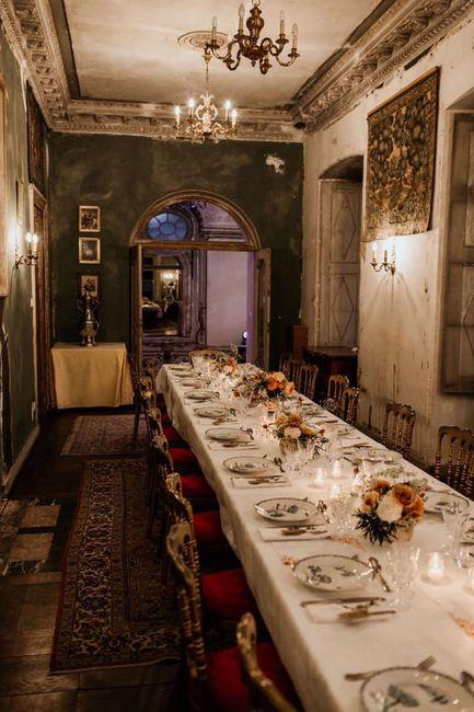 """""""Bienvenue aux mariés"""" mardi - 4) Banquet 9"""