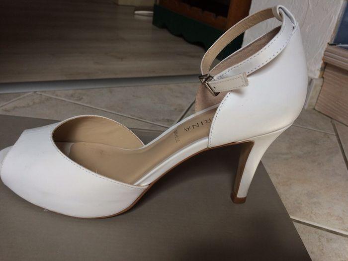 Vinted : chaussures de mariée. 1