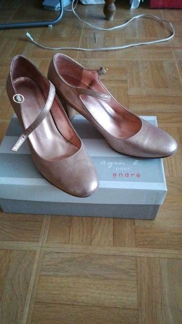 Vinted : chaussures de mariée. 2