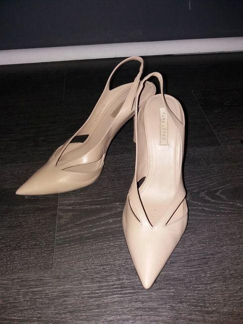 Vinted : chaussures de mariée. 3