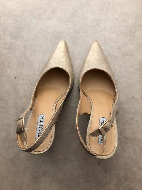 Vinted : chaussures de mariée. 4