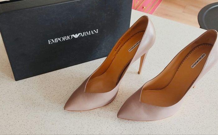 Vinted : chaussures de mariée. 5