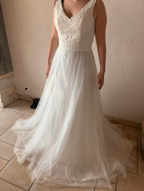 Vinted : robe de mariée. 1