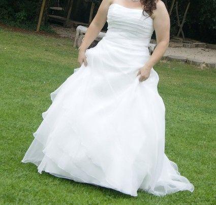 Vinted : robe de mariée. 2
