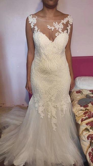 Vinted : robe de mariée. 3