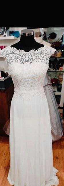 Vinted : robe de mariée. 4