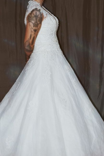 Vinted : robe de mariée. 6