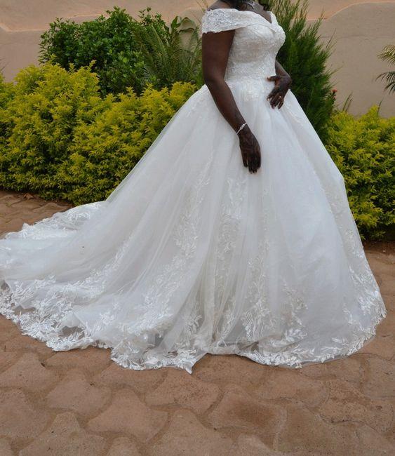 Vinted : robe de mariée. 7