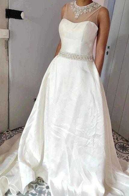 Vinted : robe de mariée. 8