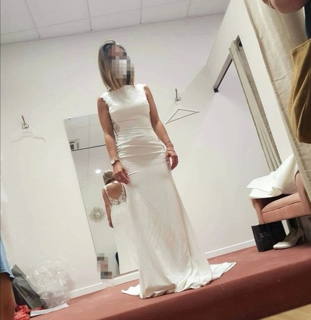 Vinted : robe de mariée. 9