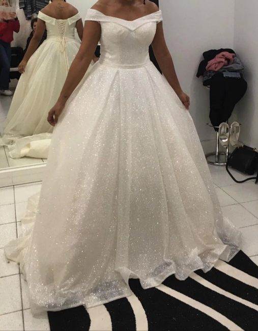 Vinted : robe de mariée. 10