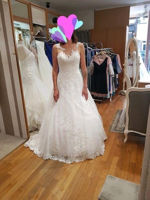 Vinted : robe de mariée. 11