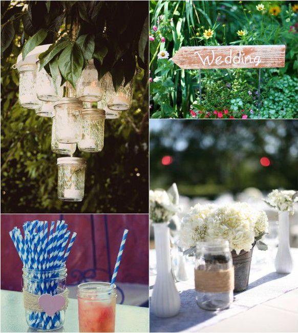 Summer wedding - déco 2