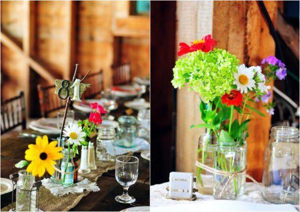 Summer wedding - déco 3