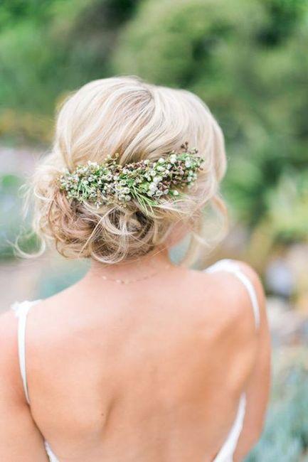 Summer wedding - coiffure 1