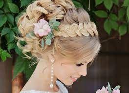 Summer wedding - coiffure 4