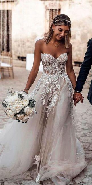 Summer wedding - robe 1