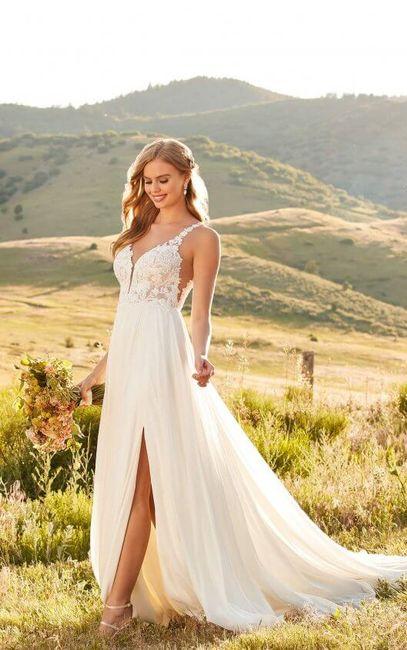 Summer wedding - robe 3