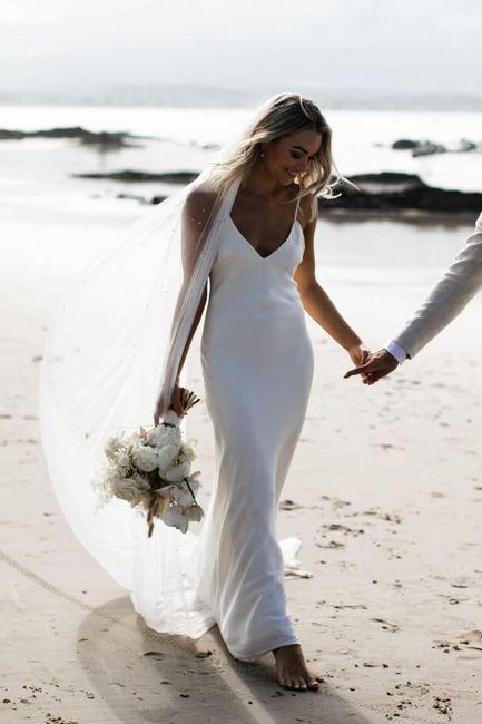 Summer wedding - robe 4