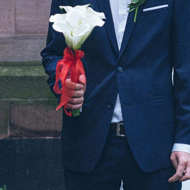 Bouquet de mariée avec des callas 6