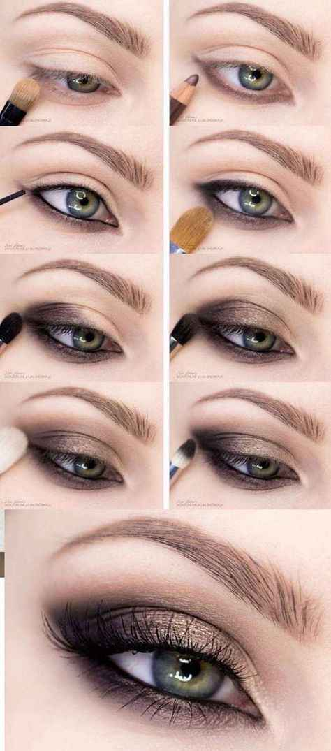 Maquillage yeux bleux - 1