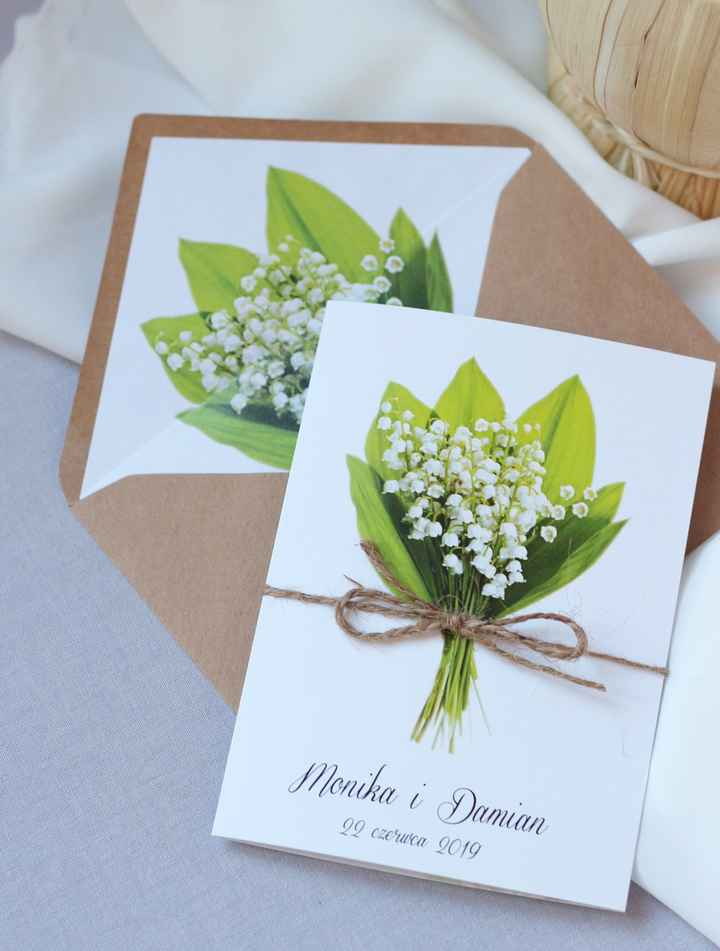 Muguet : invitations. - 7