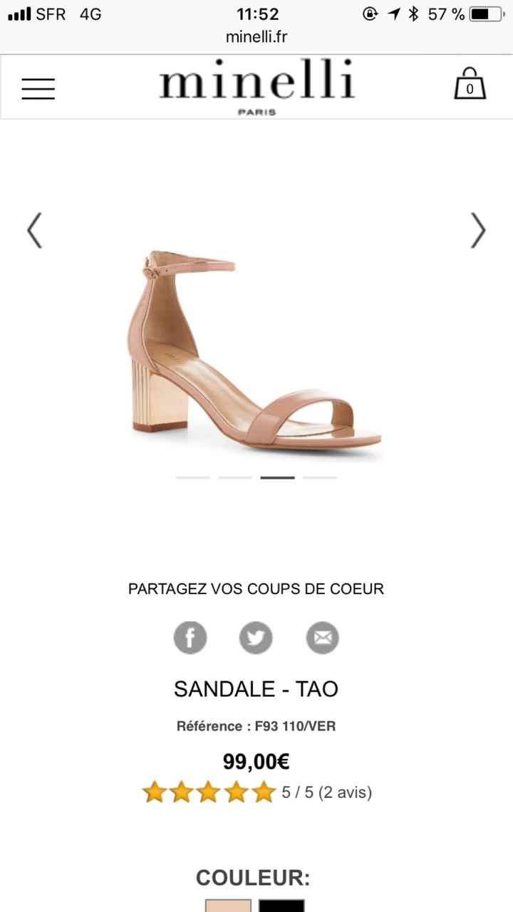 Choix des chaussures, talons carrés ? - 1