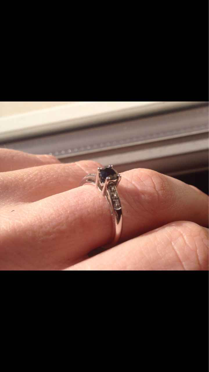 Bague de fiançailles neuve, bijoux de famille ou occasion - 2