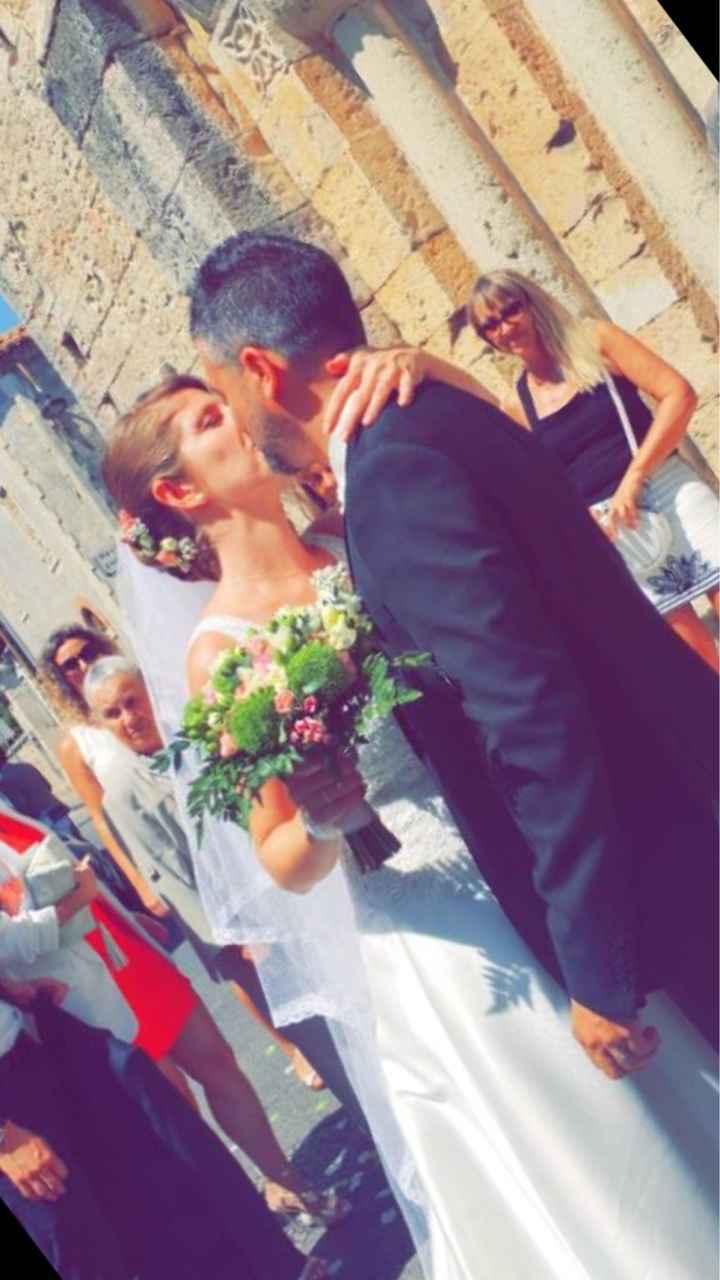 Après l'action l'émotion #mariée du 30 juin - 1