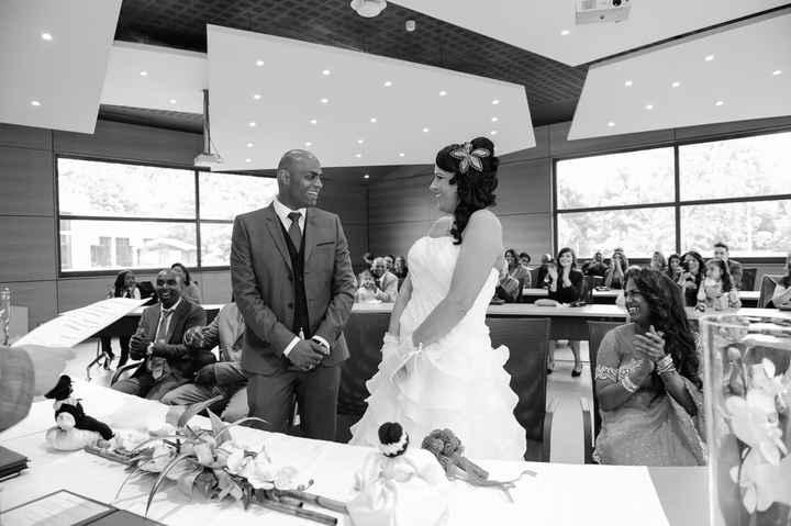 ça y est !!! nous sommes mariés