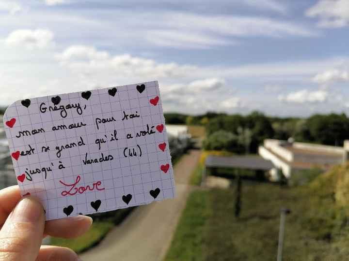 Sur un air de Love note - 2