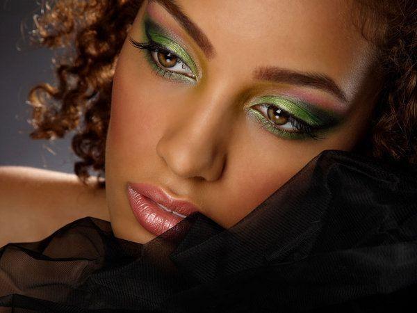 Maquillage peau métisse et noire , 2
