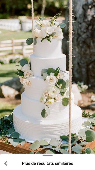 Gâteau de mariage 3