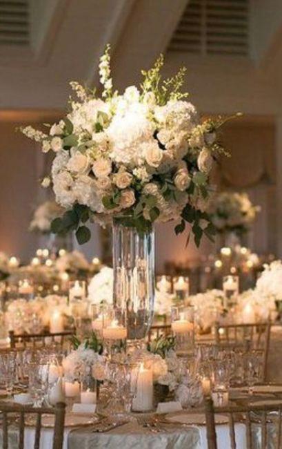 Bouquet 💐 centre de table 4