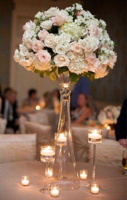 Bouquet 💐 centre de table 5