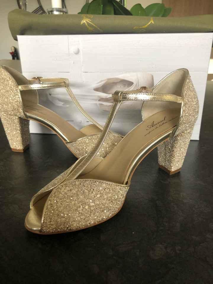 Réception chaussures - 1