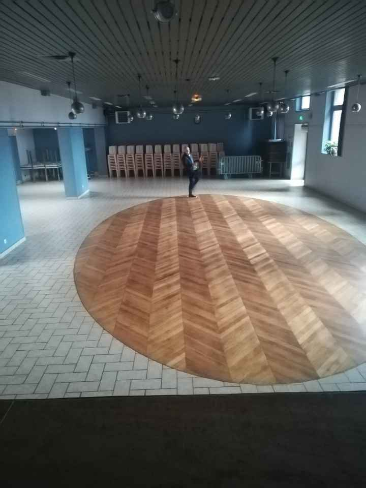 Idée pour séparer une salle en 2 salle - 1