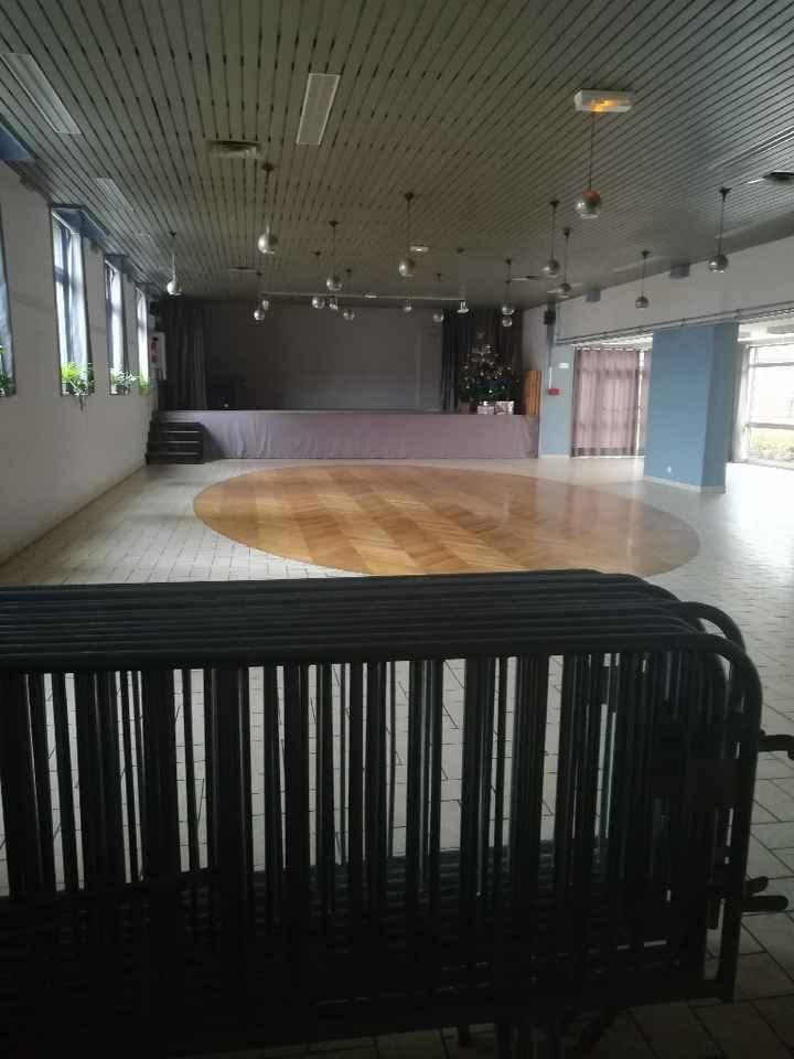 Idée pour séparer une salle en 2 salle - 2